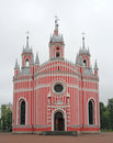 Chesme Church. Saint Petersburg, Russia. Royalty Free Stock Photography