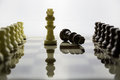 Chess alabaster a view of Royalty Free Stock Photos