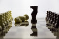 Chess alabaster a view of Stock Photo
