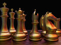 Chess battle Royalty Free Stock Photography