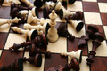 Chess battle... Stock Photography