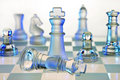 Chess Board - Checkmate Royalty Free Stock Photo