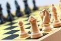 Chess board games Royalty Free Stock Photo
