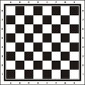 Chess Board - Print & Play Royalty Free Stock Photo