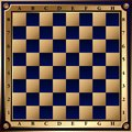 Chess board vector image of the Stock Photos