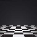 Chess floor Royalty Free Stock Photo