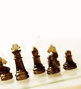 Chess game of copy space Royalty Free Stock Photo