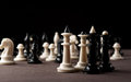 Chess king and queens Royalty Free Stock Photo