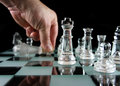 Chess - The laydown Royalty Free Stock Photography