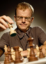 Chess master Royalty Free Stock Image