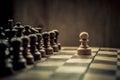 Chess match Royalty Free Stock Photo