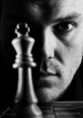 The chess player Royalty Free Stock Photo