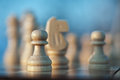 Chess pown piece Royalty Free Stock Photo