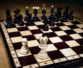Chess - weak against strong Royalty Free Stock Photos