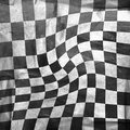 Chessboard background vivid grunge with scratches Stock Photography