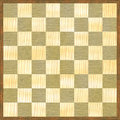 Chessboard checker pattern wood texture Stock Photos