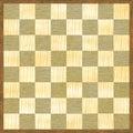 Chessboard checker pattern wood texture Stock Photos