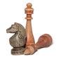 Chessmen Royalty Free Stock Photo