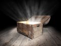 Chest of treasure Royalty Free Stock Photo
