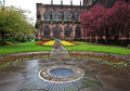 Chester Cathedral in spring Stock Images