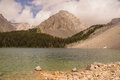Chester Lake and Gusty Peak Royalty Free Stock Photo
