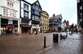 Chester streets, UK Royalty Free Stock Photography