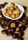 Chestnut fruit Royalty Free Stock Photo