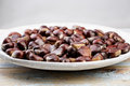 Chestnuts On Plate