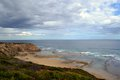 Cheviot beach port phillip bay s point nepean national park sight where australian priminister harold halt went missing melbourne Stock Images