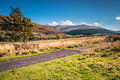 The Cheviot and College Valley Royalty Free Stock Photo