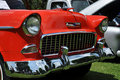 Chevrolet Bel Air in Antique Car Show Stock Photography