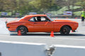Chevrolet camaro ss in autocross pomona usa march ssin during rd annual street machine and muscle car nationals Stock Image