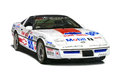 Chevrolet Corvette Race Car Royalty Free Stock Images