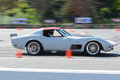 Chevrolet corvette stingray in autocross pomona usa march during rd annual street machine and muscle car nationals Stock Photos