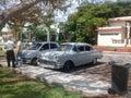 Chevrolet drzwi sedan Obrazy Royalty Free