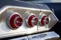 Chevrolet Impala tail light Royalty Free Stock Photo