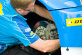 Chevrolet mechanic Stock Images