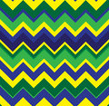 Chevron background green yeloow and blue seamless pattern Royalty Free Stock Photos