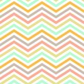 Chevron background pattern seamless patternin pastel Royalty Free Stock Photos