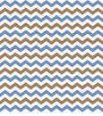 Chevron Blue & Brown Background Stock Photography