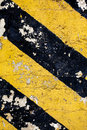 Chevron dirty grunge image of a dirty in black and yellow Stock Photography