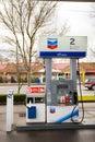 Chevron Gas Pump