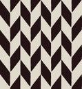 Chevron pattern illustration of seamless geometric black and white Royalty Free Stock Image