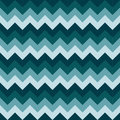 Chevron pattern seamless vector arrows geometric design colorful naval dark blue aqua marine nautical Royalty Free Stock Photo