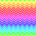 Chevron rainbow colored seamless pattern bright geometric Royalty Free Stock Images