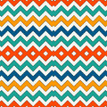 Chevron stripes background. Bright seamless pattern with classic geometric ornament. Zigzag horizontal lines wallpaper.