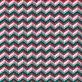 Chevron stylized geometric pattern in pink and blue Stock Photos