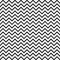 Chevron zigzag black and white seamless pattern.