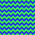Chevron zigzag pattern seamless vector arrows geometric design colorful blue green Royalty Free Stock Photo