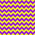 Chevron zigzag pattern seamless vector arrows geometric design colorful yellow and purple Royalty Free Stock Photo